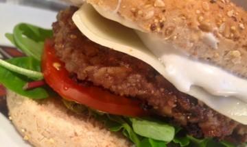 burger forestier au soja texturé