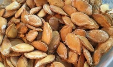 graines de potiron grillées salées