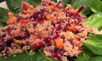 Salade de semoule aux légumes